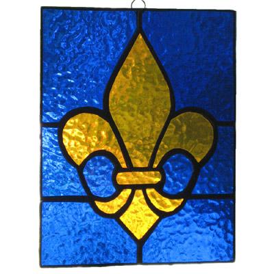 Fleur De Lys Glass Pattern